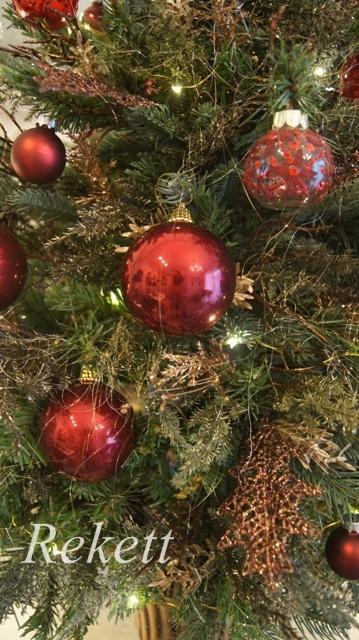 お客様オーダーアンティーク調クリスマスツリー完成致しました~❤_f0029571_23551585.jpg