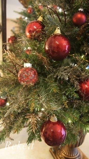 お客様オーダーアンティーク調クリスマスツリー完成致しました~❤_f0029571_23570223.jpg