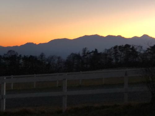 清里からの、富士、南アルプス。シルエットが素晴らしい。_d0338282_11093852.jpg