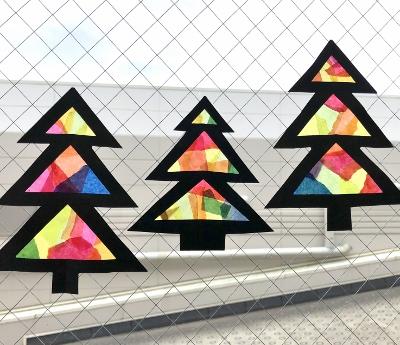 クリスマスの手仕事会~クリスマスツリーの窓飾り_c0252184_1036999.jpg