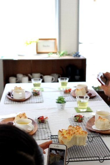Backe晶子の日本一適当なパン教室 〜1時間でできる!超簡単もっちりパン☆レッスン 〜_f0294689_12322044.jpg