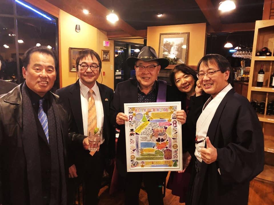全米を席巻する世界の吉田ソース会長の70歳のバースディパーティ!_c0186691_10212753.jpg