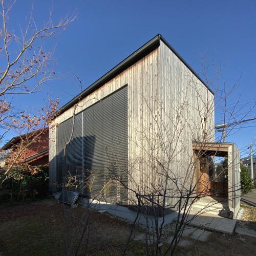 珍しい12月の快晴のQ1住宅L3モデル能代_e0054299_12005177.jpg