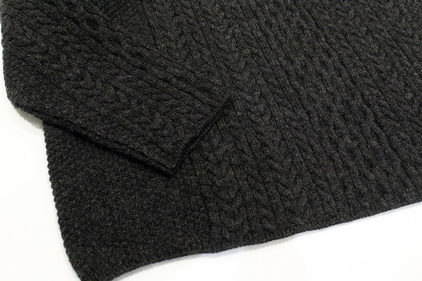 """Ordinary fits (オーディナリーフィッツ) \"""" CABLE KNIT \""""_b0122806_12402587.jpg"""