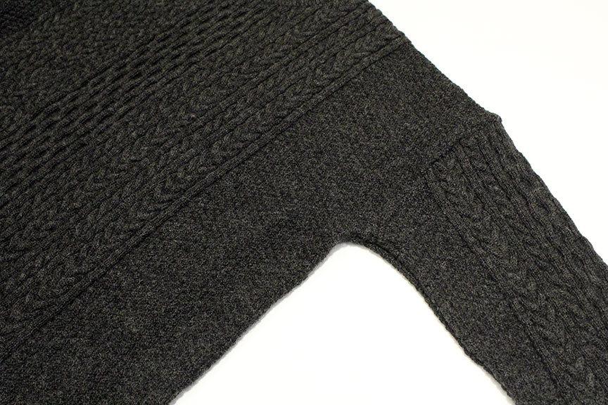 """Ordinary fits (オーディナリーフィッツ) \"""" CABLE KNIT \""""_b0122806_12403824.jpg"""