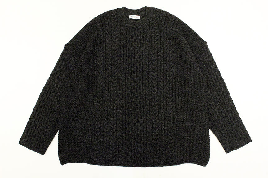 """Ordinary fits (オーディナリーフィッツ) \"""" CABLE KNIT \""""_b0122806_12405472.jpg"""