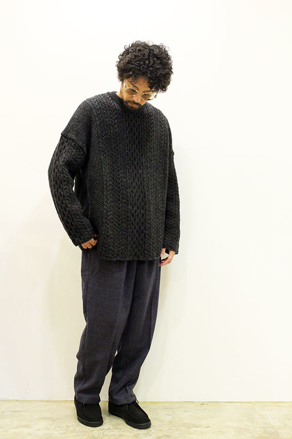 """Ordinary fits (オーディナリーフィッツ) \"""" CABLE KNIT \""""_b0122806_12414051.jpg"""