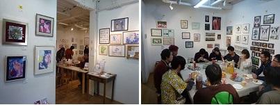 2019.12.10 『風雅16周年 記念アート展』が開催されました_e0189606_12015495.jpg