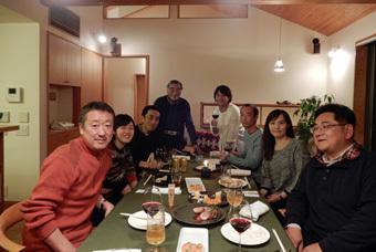 今年も東玉川の家の忘年会がありました。_c0195909_05530773.jpg