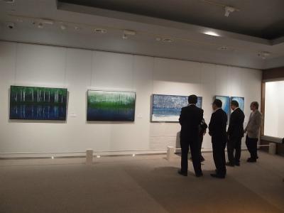 """""""ライムアートの世界"""" 展がNHK岡山で放映されました_e0010418_14591109.jpg"""