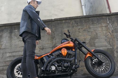 浅見 典央 & Harley-Davidson 2002 TwinCam Softail(2019.08.04/TOKYO)_f0203027_12492972.jpg