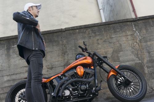 浅見 典央 & Harley-Davidson 2002 TwinCam Softail(2019.08.04/TOKYO)_f0203027_12493314.jpg