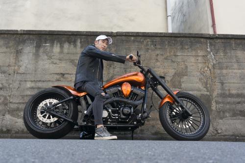 浅見 典央 & Harley-Davidson 2002 TwinCam Softail(2019.08.04/TOKYO)_f0203027_12494322.jpg