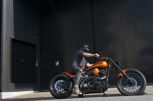 浅見 典央 & Harley-Davidson 2002 TwinCam Softail(2019.08.04/TOKYO)_f0203027_12494883.jpg