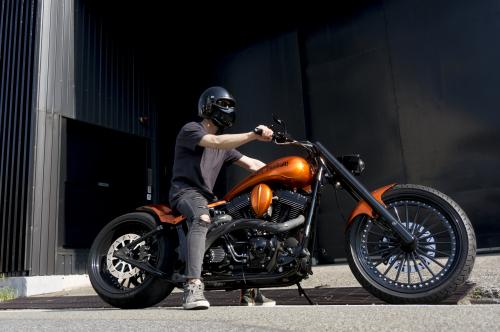 浅見 典央 & Harley-Davidson 2002 TwinCam Softail(2019.08.04/TOKYO)_f0203027_12495326.jpg