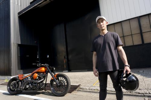 浅見 典央 & Harley-Davidson 2002 TwinCam Softail(2019.08.04/TOKYO)_f0203027_12500666.jpg