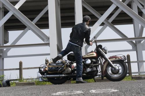 原 健太郎 & Harley-Davidson FL1200 50Th Anniversary Model(2019.04.07/TOKYO)_f0203027_13062893.jpg