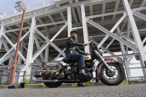 原 健太郎 & Harley-Davidson FL1200 50Th Anniversary Model(2019.04.07/TOKYO)_f0203027_13063522.jpg