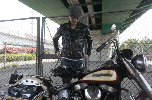 原 健太郎 & Harley-Davidson FL1200 50Th Anniversary Model(2019.04.07/TOKYO)_f0203027_13064362.jpg