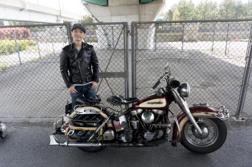 原 健太郎 & Harley-Davidson FL1200 50Th Anniversary Model(2019.04.07/TOKYO)_f0203027_13065285.jpg