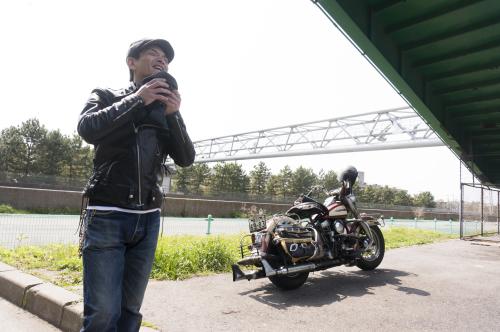 原 健太郎 & Harley-Davidson FL1200 50Th Anniversary Model(2019.04.07/TOKYO)_f0203027_13065752.jpg