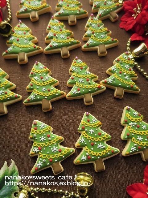 クリスマスアイシングクッキー*ツリー_d0147030_20095278.jpg