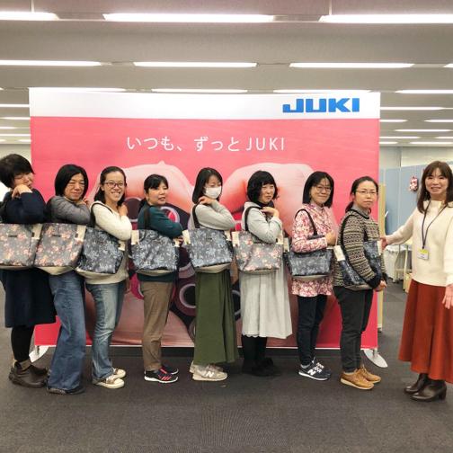 『普段使いトート』JUKIさんとのコラボWSありがとうございました!_f0023333_22435614.jpg