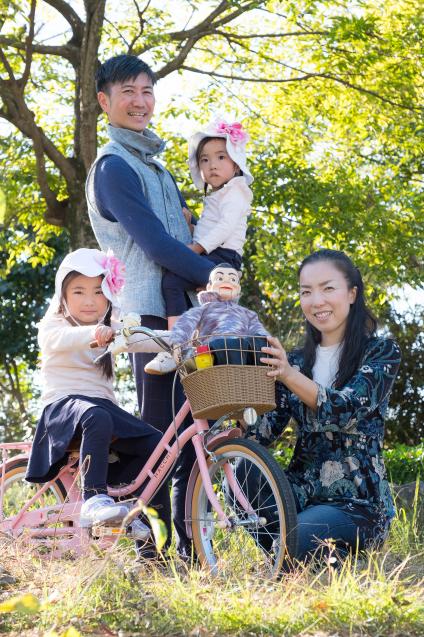 """ゆいちゃんとサラちゃん:その4 """"自転車にのって""""_e0369736_22191042.jpg"""
