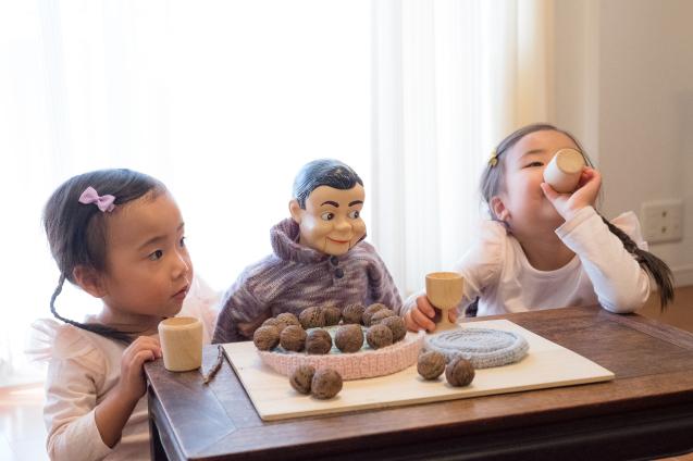 """ゆいちゃんとサラちゃん:その5 """"ケーキで宴会""""_e0369736_23295814.jpg"""