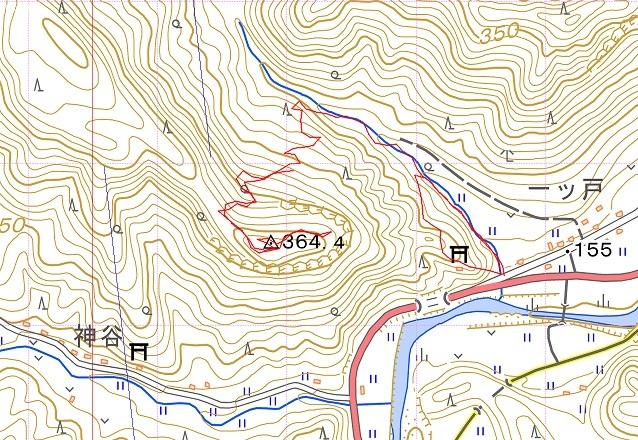 歴史探訪・・一ツ戸城山(耶馬渓)_e0164643_11011225.jpg