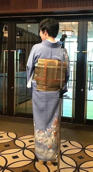 11周年・お友達から頂かれたお母様の着物・大秀華展へ。_f0181251_17291238.jpg