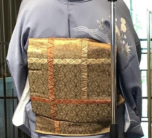 11周年・お友達から頂かれたお母様の着物・大秀華展へ。_f0181251_17294291.jpg