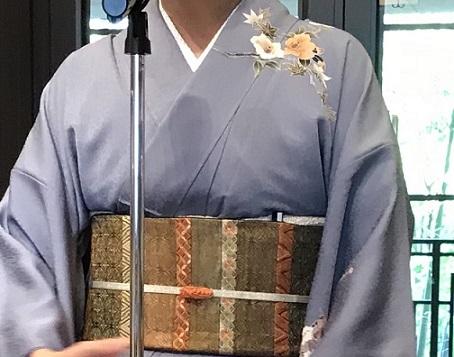11周年・お友達から頂かれたお母様の着物・大秀華展へ。_f0181251_17313260.jpg