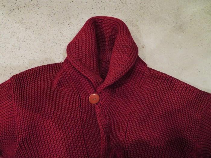30\'s Shawl Collar Sweater Coat _e0187362_13494509.jpg