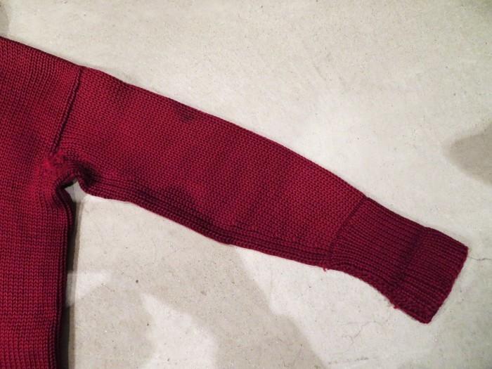 30\'s Shawl Collar Sweater Coat _e0187362_13524410.jpg