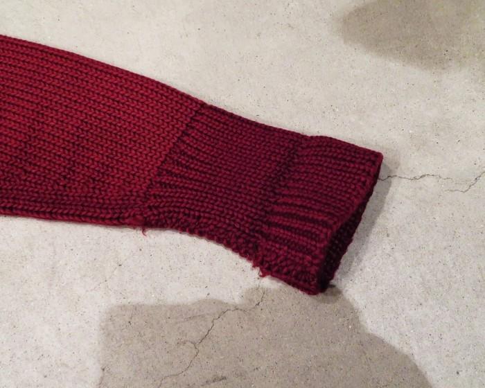 30\'s Shawl Collar Sweater Coat _e0187362_13531777.jpg