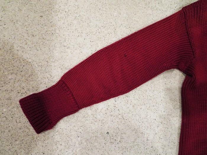 30\'s Shawl Collar Sweater Coat _e0187362_14182054.jpg