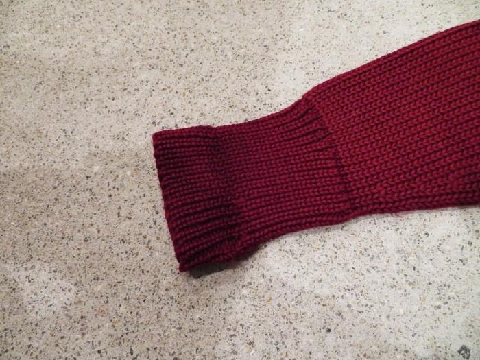 30\'s Shawl Collar Sweater Coat _e0187362_14185906.jpg
