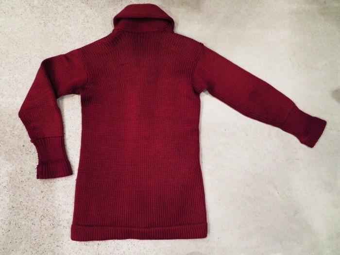 30\'s Shawl Collar Sweater Coat _e0187362_14192186.jpg