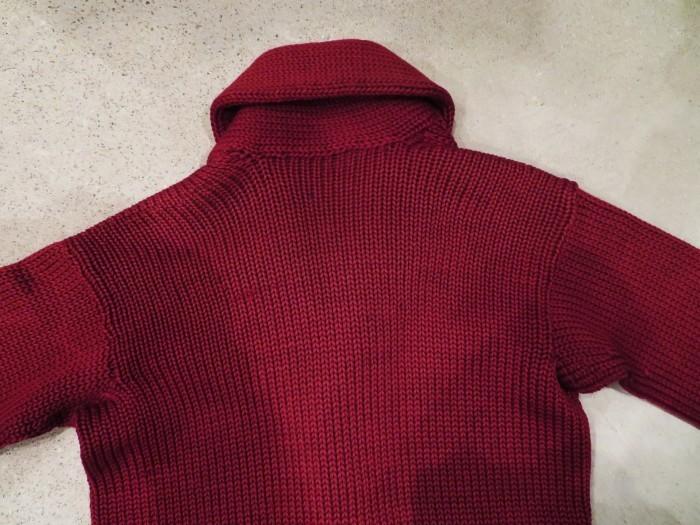 30\'s Shawl Collar Sweater Coat _e0187362_14195675.jpg