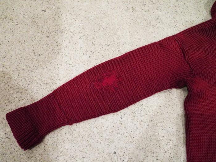 30\'s Shawl Collar Sweater Coat _e0187362_14212767.jpg
