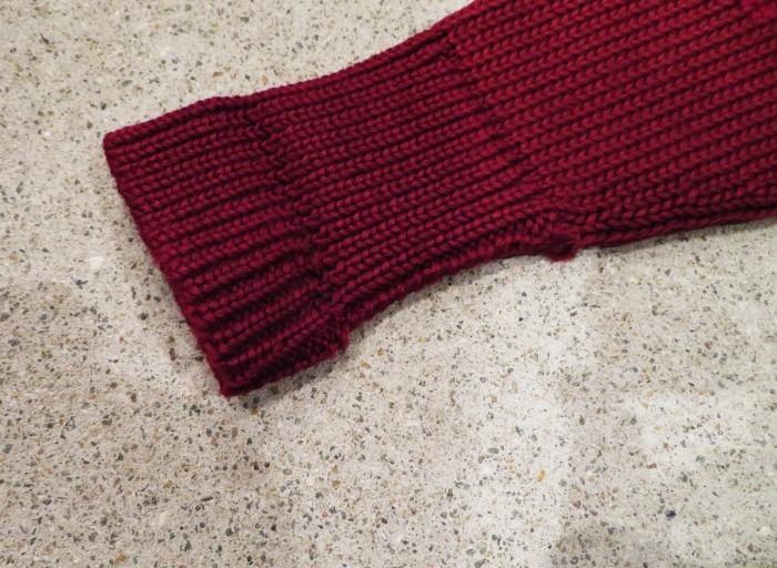 30\'s Shawl Collar Sweater Coat _e0187362_14220204.jpg