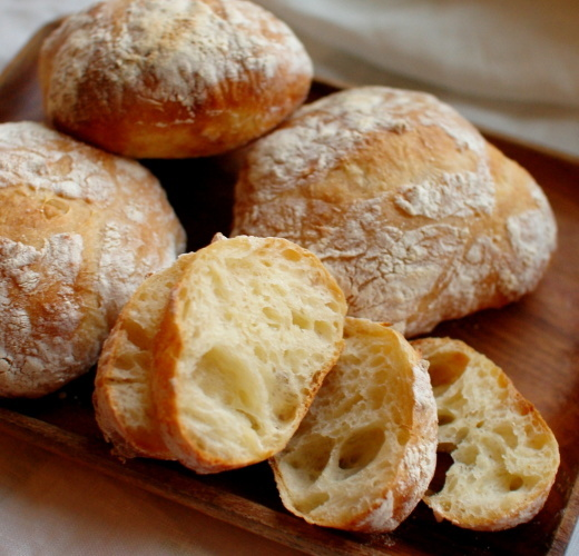 ヘラごねパン(リュスティックのようなもの)_c0110869_06185492.jpg