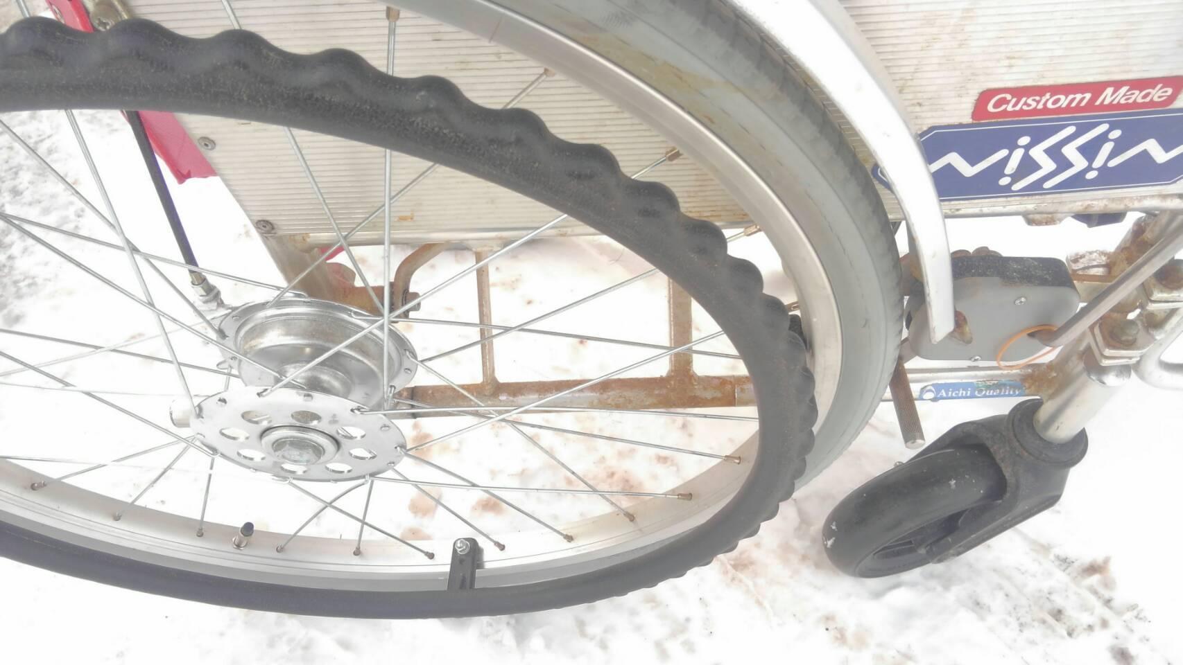 しつこいですが(^^;本日も除雪機修理_a0216771_12050914.jpg