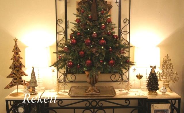 お客様オーダーアンティーク調クリスマスツリー完成致しました~❤_f0029571_00064297.jpg