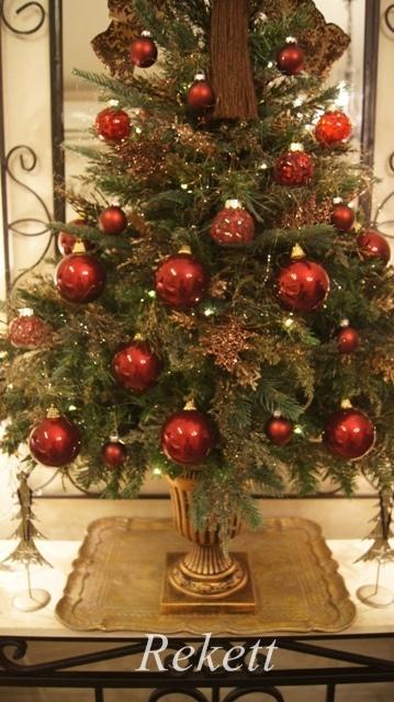 お客様オーダーアンティーク調クリスマスツリー完成致しました~❤_f0029571_00100118.jpg