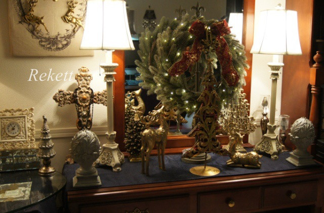 オリジナルデザインクリスマスツリー&リース~❤_f0029571_01193024.jpg