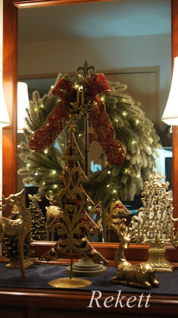 オリジナルデザインクリスマスツリー&リース~❤_f0029571_01231669.jpg