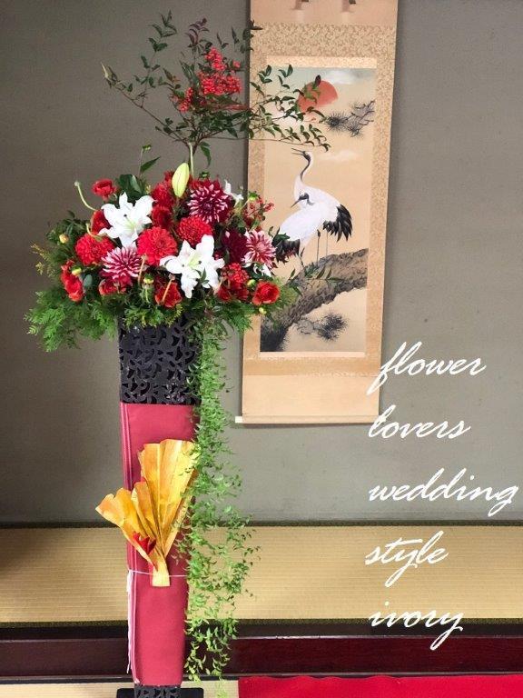週末の婚礼から〜♬_b0094378_18272642.jpeg