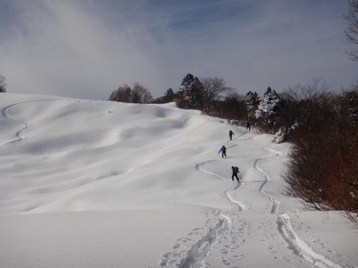 蔵王・刈田岳(ハイライン分岐まで)~ 2019年12月7日_f0170180_23012280.jpg